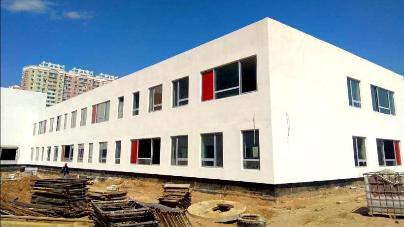 Строительство школы на 550 мест в Ленинском районе завершат до осени 2019 года