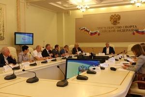 В Минспорте России обсудили вопросы развития фитнес-индустрии