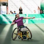 Виктория Львова – победительница международного турнира по теннису на колясках