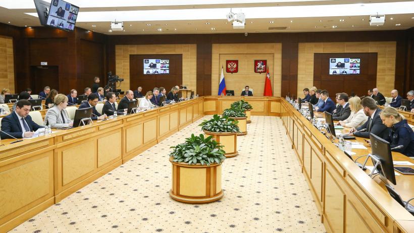 Воробьев подчеркнул важность реализации нацпроектов в Подмосковье на заседании правительства