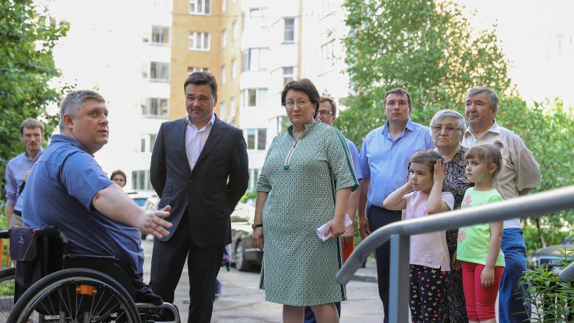 Воробьев посетил с рабочим визитом городской округ Красногорск