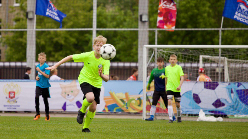 Всероссийский фестиваль детского дворового футбола начался в Подмосковье