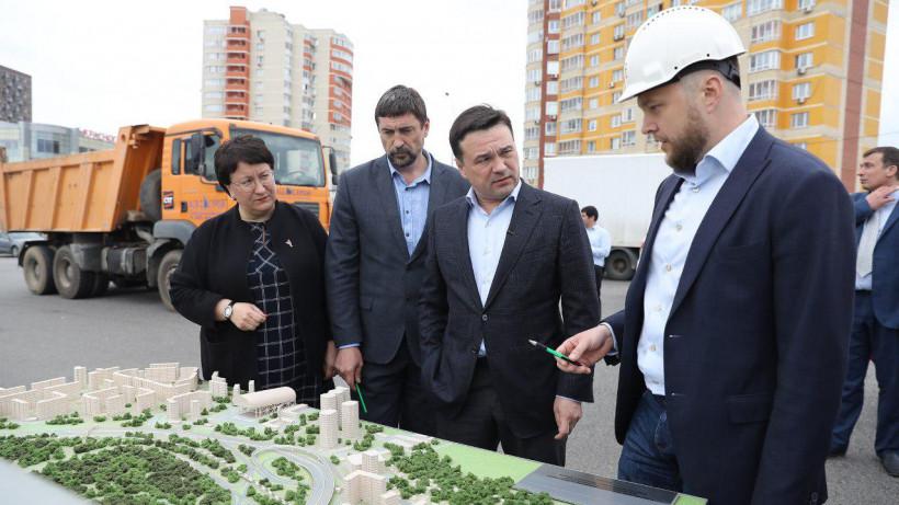 Завод по производству строительных модулей и панелей открыли в Красногорске
