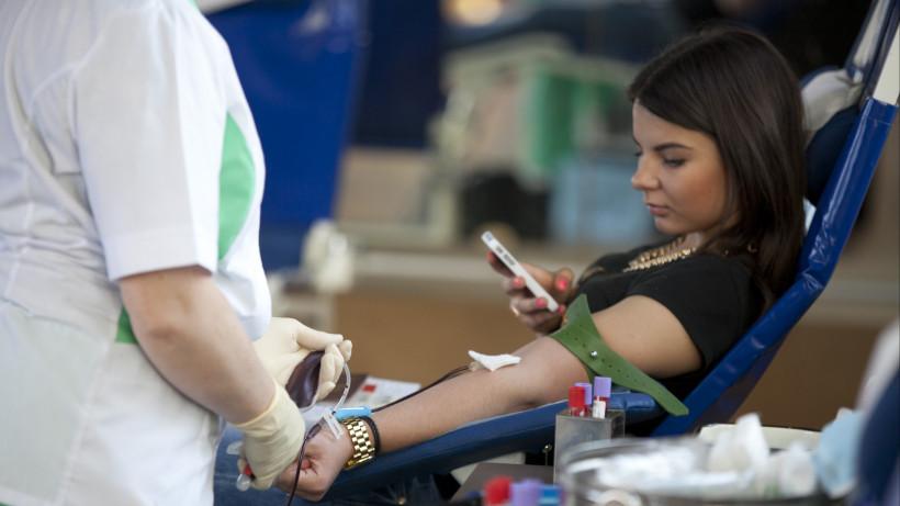 Жители Подмосковья смогут сдать кровь в пятницу