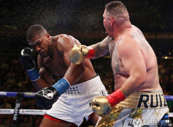 Американец Руис нокаутировал британца Джошуа, лишив его четырех титулов (ВИДЕО)