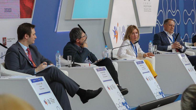 Анастасия Звягина выступила на посвященной масс-медиа секции III Форума социальных инноваций регионов