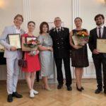 Благодарности Министра культуры вручили по случаю Дня России в Посольстве РФ в Вене