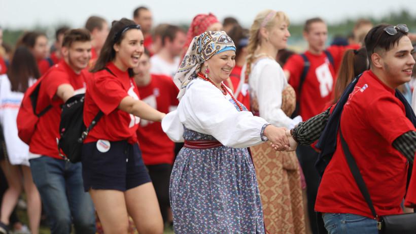 Более 15 тыс. человек посетили фестиваль «Русский мир» в Сергиевом Посаде