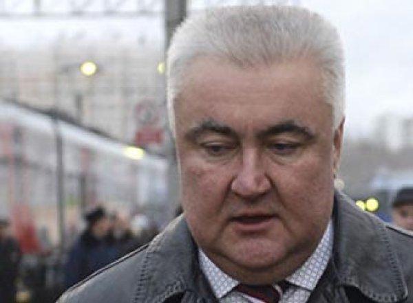 Бывший начальник Свердловской ЖД покончил с собой на Рублевке