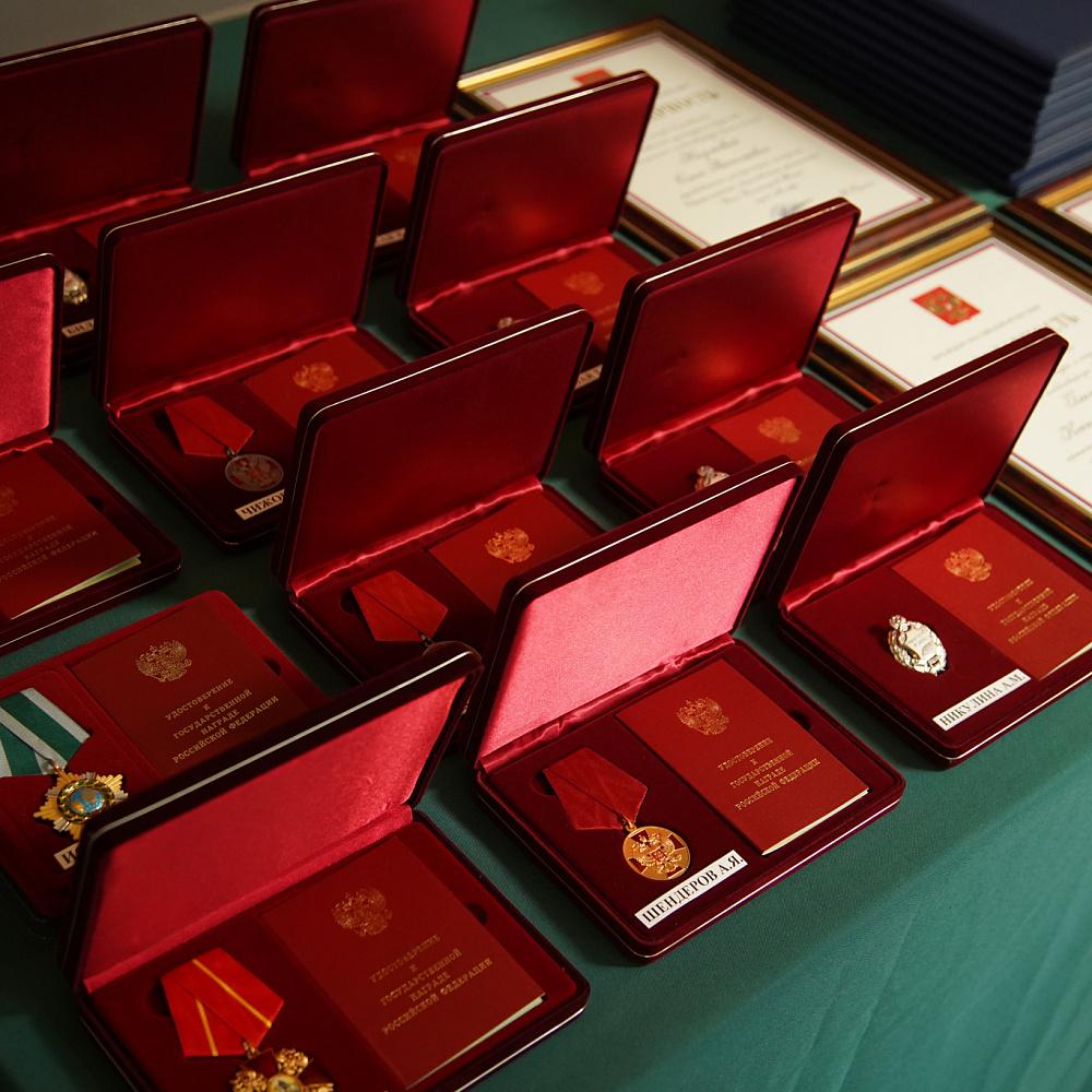 Церемония награждения государственными и ведомственными наградами Минкультуры России в Большом театре