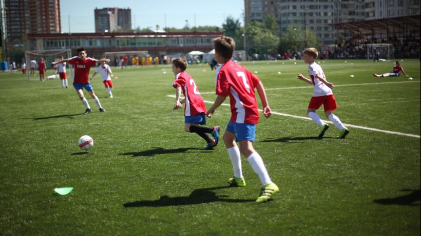 Детский международный турнир по футболу «Кубок флагов мира» стартовал в Химках