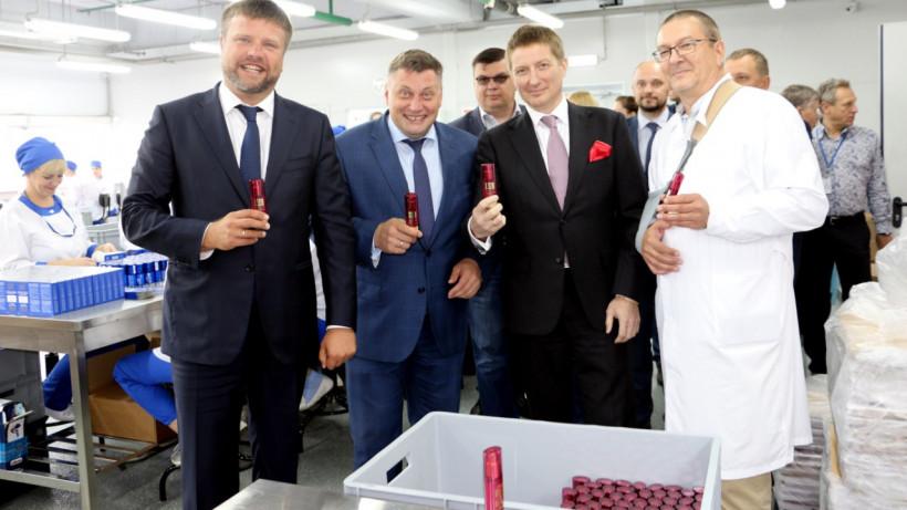 Два новых завода торжественно открыли в ОЭЗ «Дубна»