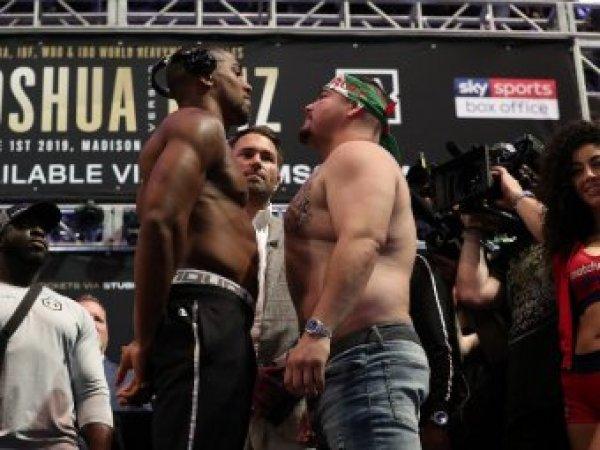 Джошуа и Руис сойдутся в бою за пояса WBA Super, WBO и IB