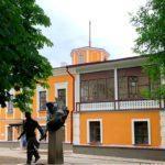 Фасады Дома губернатора в Пскове отреставрировали к Международным Ганзейским дням Нового времени