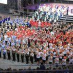 Фестиваль детских духовых оркестров России «Серебряные трубы Черноморья» открывается в Артеке