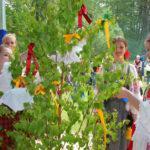Фольклорный праздник «Троицу встречаем»