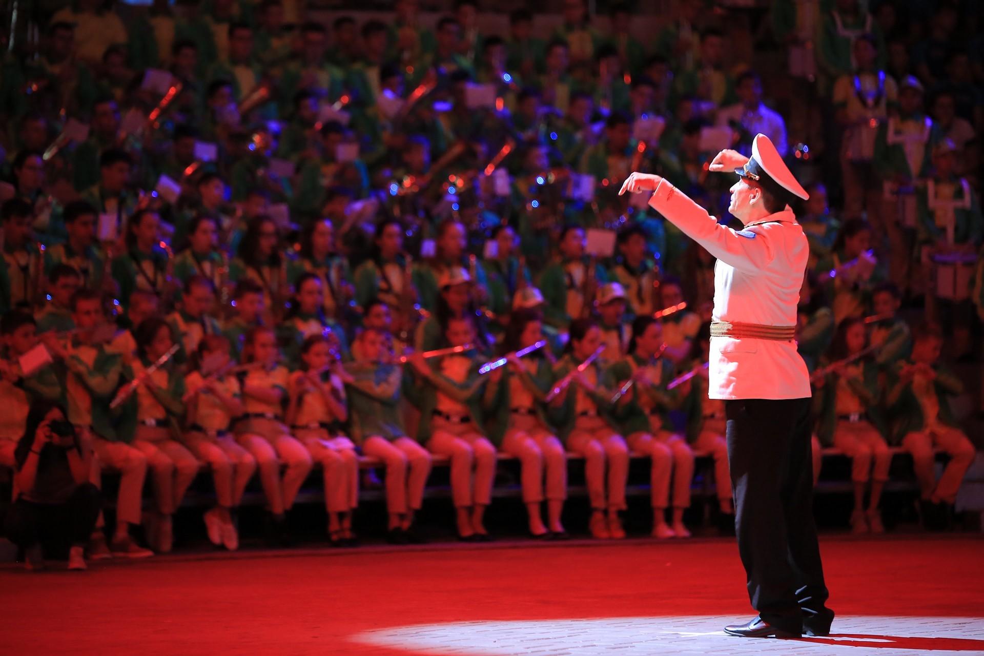 Гала-концерт фестиваля детских духовых оркестров «Серебряные трубы Черноморья»