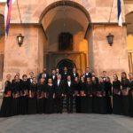 Гастроли Московского Синодального хора по Европе завершились соборным исполнением «Стабат Матер» митрополита Илариона в Сербии