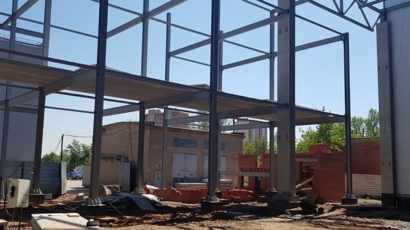 Главгосстройнадзор выявил нарушения по качеству строительства склада готовой продукции в Подольске