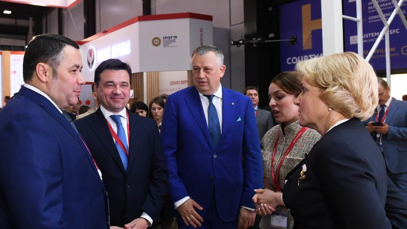 Губернатор подписал ряд соглашений с инвесторами в первый день ПМЭФ-2019