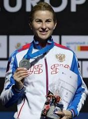 Инна Дериглазова выиграла «серебро» на Чемпионате Европы по фехтованию в Германии