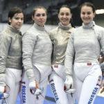 Яна Егорян завоевала золото чемпионата Европы по фехтованию