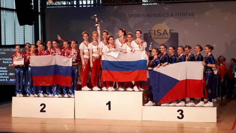 Команда из Лобни по фитнес-аэробике победила на первенстве Европы