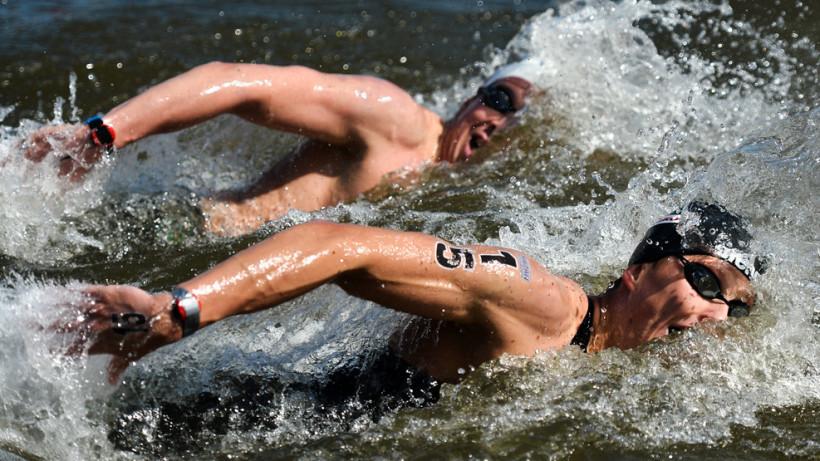 Команда Московской области победила на чемпионате России по плаванию на открытой воде
