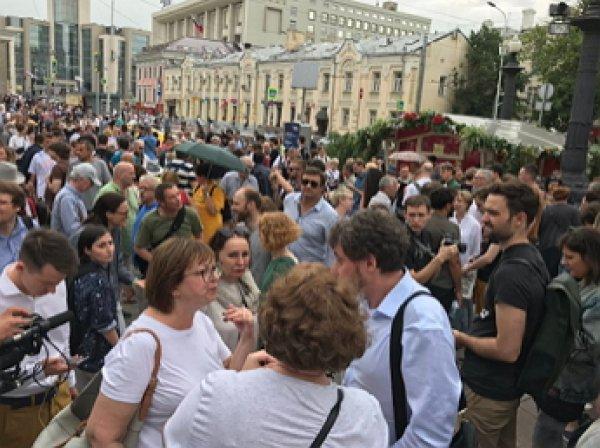 Марш в поддержку Голунова в Москве: начались первые задержания, «винтят» даже журналистов