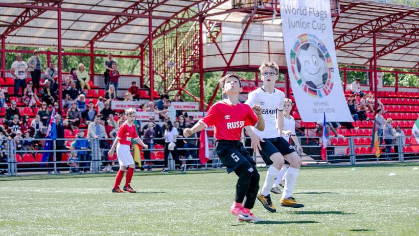 Международный детский футбольный турнир «Кубок флагов мира» пройдет в Химках