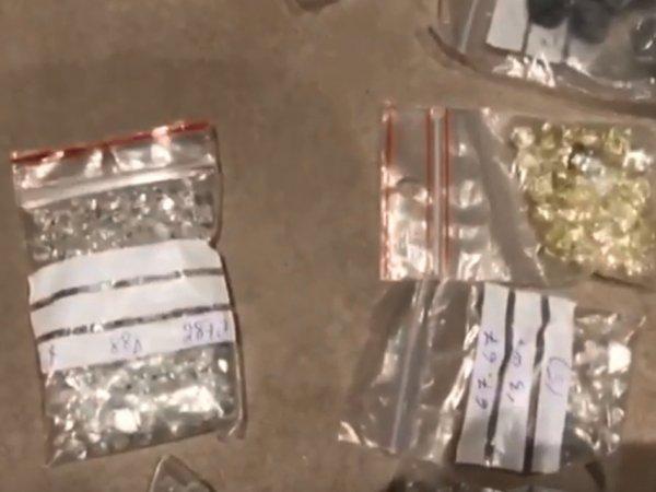 Миллионы долларов, алмазы, ювелирка: опубликовано видео обыска у проворовавшейся сотрудницы «АЛРОСА»