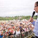 На фестивале «Русский мир» почтили память спецназовца ГРУ Никиты Белянкина