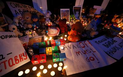 На Украине проходят массовые протесты после гибели от пули полицейских 5-летнего ребенка (ФОТО, ВИДЕО)