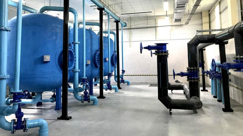 Новые канализационные очистные сооружения готовят к вводу в Рузском округе
