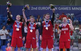 Новые медали российских спортсменов на II Европейских играх в Минске