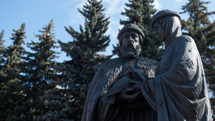 Памятник Петру и Февронии откроют в Солнечногорске в День семьи