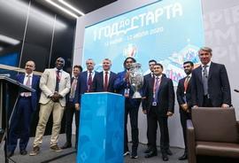 Павел Колобков принял участие в сессии «Футбол в интерьерах большого города» в рамках ПМЭФ'19