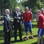Павел Колобков встретился в Новогорске со сборными командами России