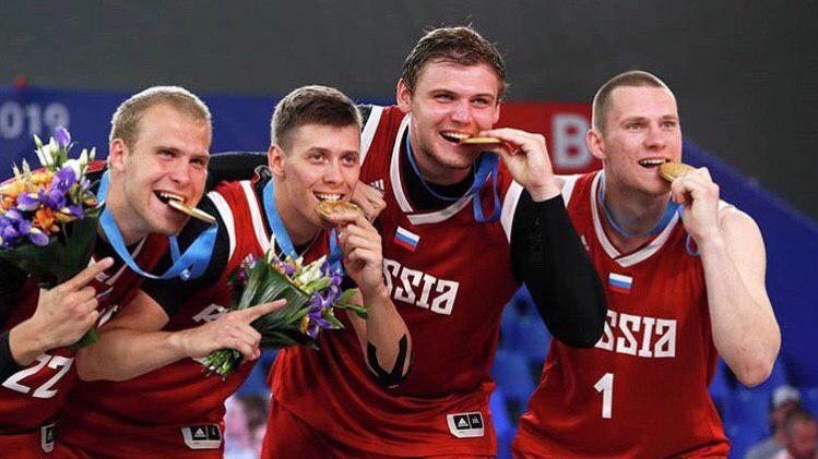 Подмосковные баскетболисты в составе сборной России стали чемпионами Европейских игр