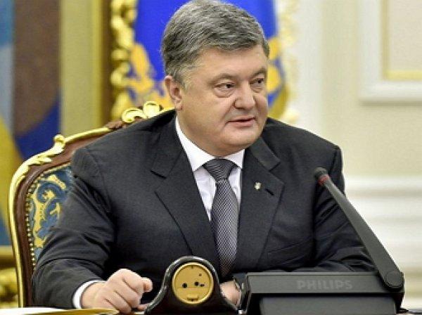Порошенко допустил отказ Киева от Крыма