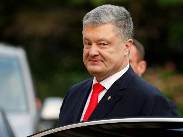 Порошенко устроил истерику из-за возможного снятия блокады Донбасса