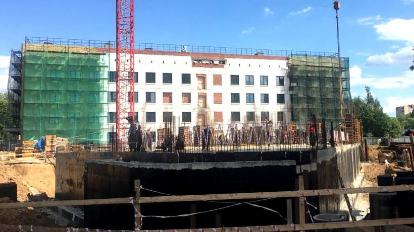 Реконструкция поликлиники в Одинцове завершится в 2019 году