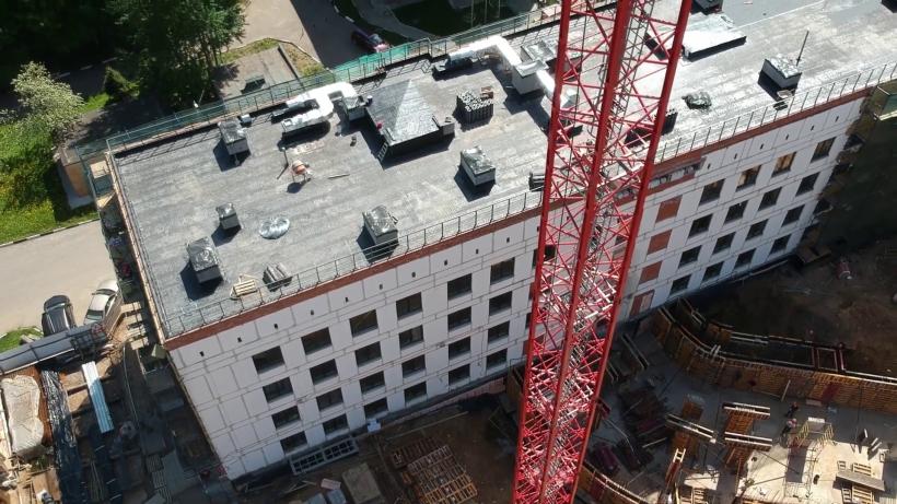 Реконструкцию поликлиники в Одинцове завершат до конца 2019 года