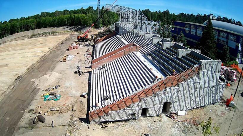 Реконструкцию стадиона «Знамя» в Ногинске завершат до конца 2019 года