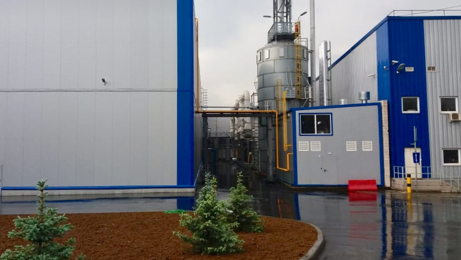 Реконструкцию завода по производству ламината и паркетной доски завершили в Мытищах