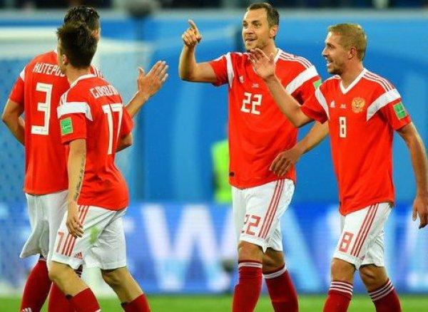 Сборная России разгромила Сан-Марино с рекордным счетом 9:0