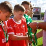 Сборная России стала бронзовым призёром на международном футбольном турнире «Кубок флагов мира»