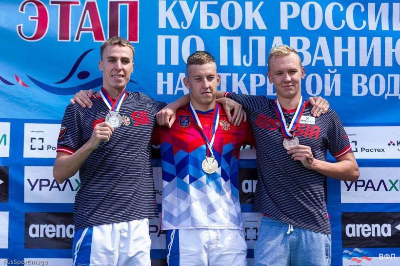 Серебряная медаль на I этапе Кубка России по плаванию на открытой воде