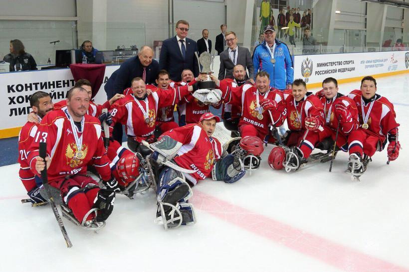 Следж-хоккеисты подмосковного «Феникса» - обладатели Кубка континента в составе сборной России