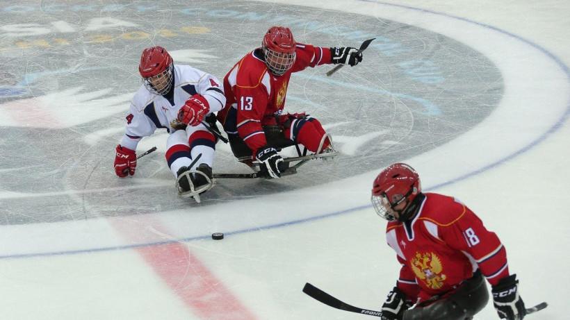 Следж-хоккеисты подмосковного «Феникса» выиграли Кубок континента в составе сборной России